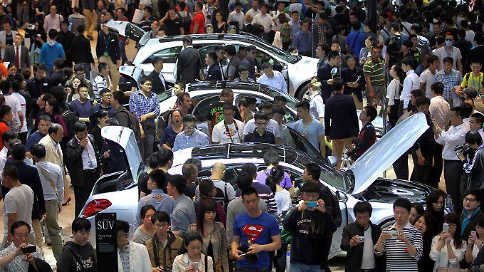 Daimler setzt große Hoffnungen in den chinesischen Markt.