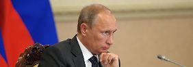 Wladimir Putin schlägt zurück.