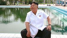 Ferien in Nordkorea: Kim Jong Un begrüßt Kinder aus aller Welt