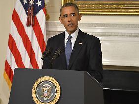 Barack Obama befiehlt den Angriff.