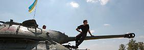 """""""Aussage ohne Taten"""": Kiew lehnt Waffenruhe mit Separatisten ab"""