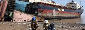 Tödliche Unfälle: Hapag-Lloyd vermeidet Billig-Abwracken