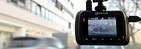 Streit um Auto-Videokameras: Dashcams verstoßen gegen Datenschutz