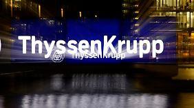 """""""Richtige Richtung"""" eingeschlagen: ThyssenKrupp kämpft sich zurück"""