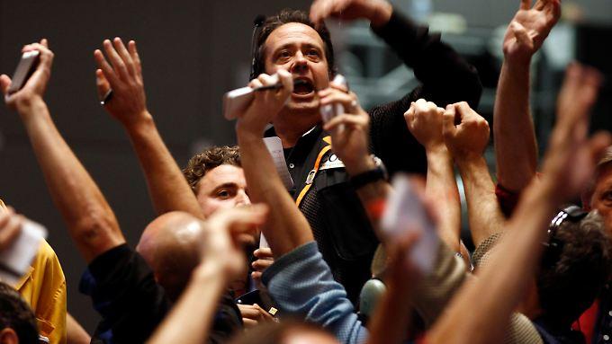 Enttäuschung über Bankbilanzen drücken US-Börsen ins Minus.
