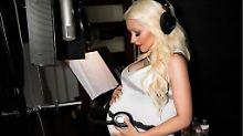 """Sommerregen"" ist da: Christina Aguilera ist erneut Mama"
