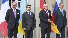 Waffenstillstand nicht in Sicht: Krisentreffen zum Ukraine-Konflikt endet ohne Durchbruch