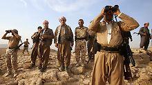 Alle Hoffnung ruht auf den Peschmerga. Die Armee der kurdischen autonomen Region im Irak hat den radikalen Muslimen von IS bisher standhalten können.