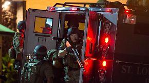 Erneut schwere Krawalle: Obama schickt Justizminister Holder nach Ferguson