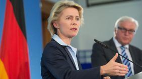 Kampf gegen IS-Terromiliz: Deutschland will Waffen an Kurden im Nordirak liefern