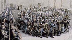 """Die """"Shaker"""" verzichteten aus religiösen Gründen auf Nachwuchs. Gab es Mitte des 19. Jahrhunderts rund 6000 Anhänger der Glaubensgemeinschaft, sind es heute noch 3 (Stand: 2009)."""