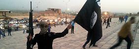 IS-Milizionär im irakischen Mossul.