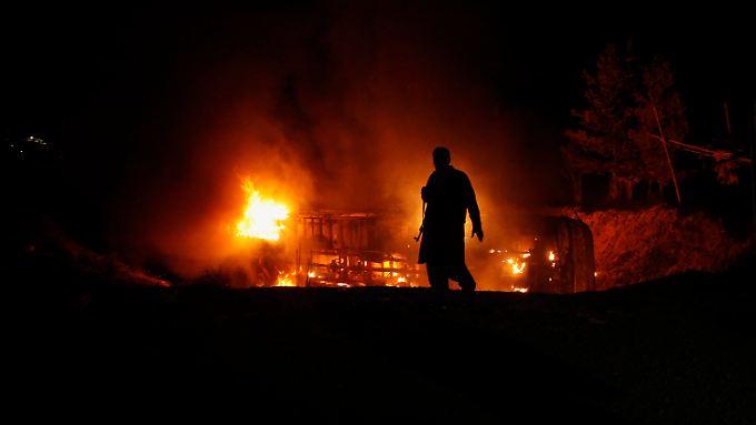 Selbstmordanschlag auf schiitische Pilger in Pakistan.