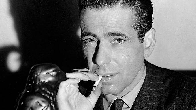 Humphrey Bogart prägte als Privatdetektive Sam Spade eine klassische Figur des Film Noir.
