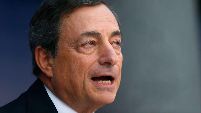 Bei den Euroländern ist mit sinkenden Haushaltsdefiziten zu rechnen - laut Draghi sollten diese Spielräume genutzt werden.