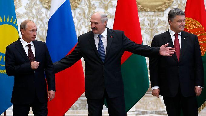 Vor dem Ukraine-Krisengipfel: Fronten zwischen Putin und Poroschenko sind verhärtet
