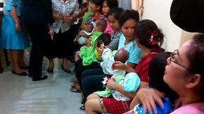 Ziel: 1000 eigene Kinder: Japaner zeugt reihenweise Leihmutter-Babys
