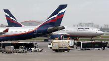 """""""Nachfrage-Absturz"""" bei Aeroflot: Russlands größte Airline fliegt tiefrot"""