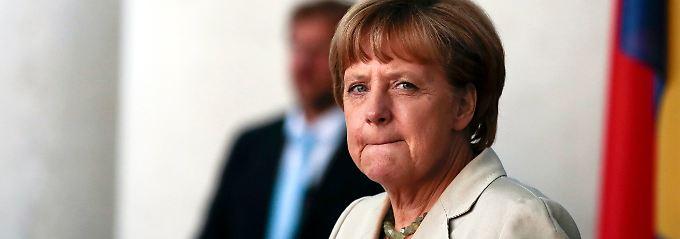 Will wieder über Sanktionen reden: Kanzlerin Merkel.