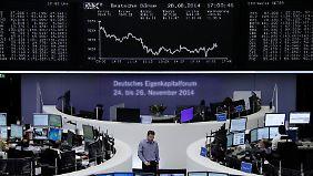 Weltweit nervöse Märkte: Zeichen in der Wirtschaft stehen auf Krise