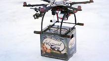 Google, Amazon und DHL fliegen mit: Die Drohnen-Zukunft schwebt vor der Tür