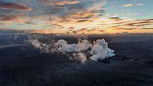Vulkan wieder ruhiger: Island hebt Flugverbot auf
