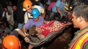 Grubenunglück nach Erdrutsch: Bergarbeiter aus illegaler Goldmine in Nicaragua befreit