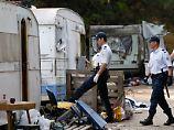 Fluchtroute nach Westeuropa: Rumänische Polizei findet Geflüchtete in Lkw