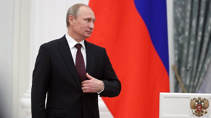 """Will """"die Interessen der Menschen in der Ostukraine sichern"""": Kreml-Chef Wladimir Putin."""