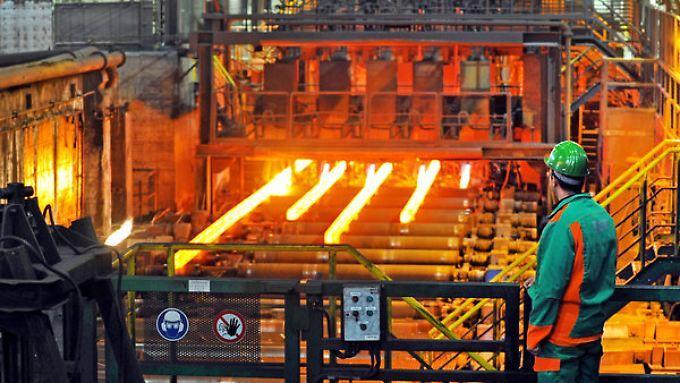 Die Stahlbranche hat sich noch nicht von der Wirtschaftskrise erholt.