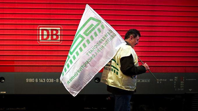 Streik auf den Schienen: Lokführer streiken von 6 bis 9 Uhr