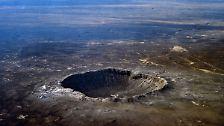 Geschosse mit Schlagkraft: Die bekanntesten Meteoritenfälle