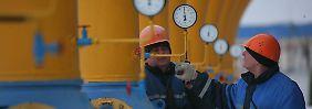 Mit Drosselung durch den Winter?: Moskau spielt mit der Gaskarte