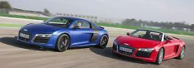 Luxus-Sportler zum Teilen: Audi bietet R8 zum Carsharing an