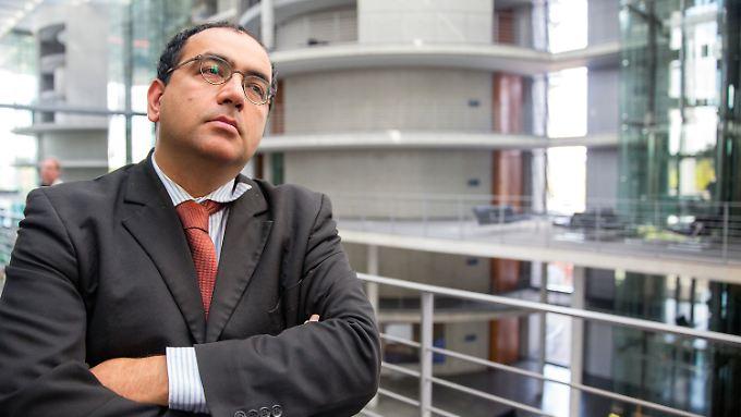 Omid Nouripour ist verteidigungspolitischer Sprecher der Grünen im Bundestag.