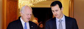 """Assad warnt Anti-Terror-Koalition: Syrien nennt Schläge gegen IS """"Aggression"""""""