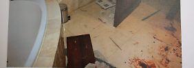 Ein Tatortfoto aus dem Haus von Pistorius.