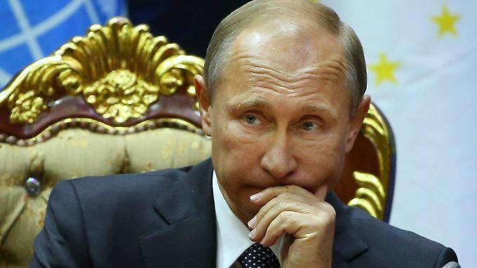 Russlands Präsident Wladimir Putin: Sanktionen provozieren Sanktionen.