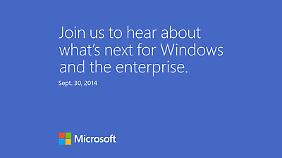 Microsoft zeigt am 30. September, wie es mit Windows weitergehen soll.