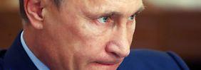 Wladimir Putin hat im Wirtschaftskrieg kaum ein Mittel gegen eine Waffe des Westens: Geld.