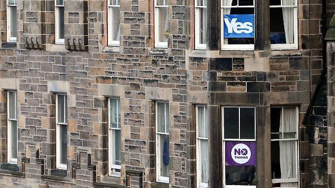 Ja oder Nein? Die Schotten entscheiden an diesem Donnerstag.