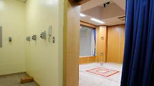 Lange Zeit ein Tabu: Japan zeigt Hinrichtungskammer