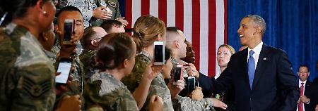 Verwirrung um Irak-Äußerung: Obama lässt die Truppen daheim