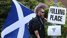 ... Punks, die zur Abstimmung gingen.