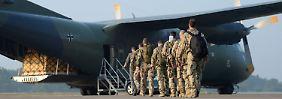 Transall-Flugzeug gibt Geist auf: Panne verzögert Bundeswehreinsatz im Irak