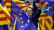 Artur Mas möchte Katalonien in die Unabhängigkeit führen.