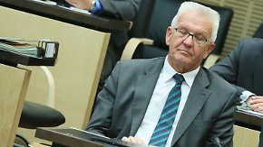 Zustimmung zur Asylreform: Grüne haben an Kretschmanns Ja zu knapsen