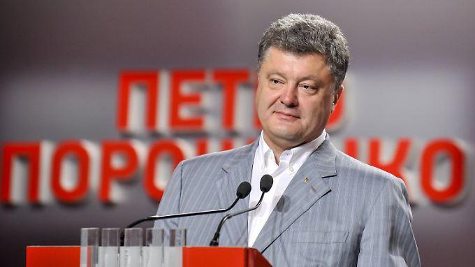 Petro Porososchenko gehört zu den reichsten Ukrainern.