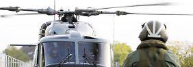 Ministerium hat sich verschätzt: Marinehubschrauber bleiben am Boden