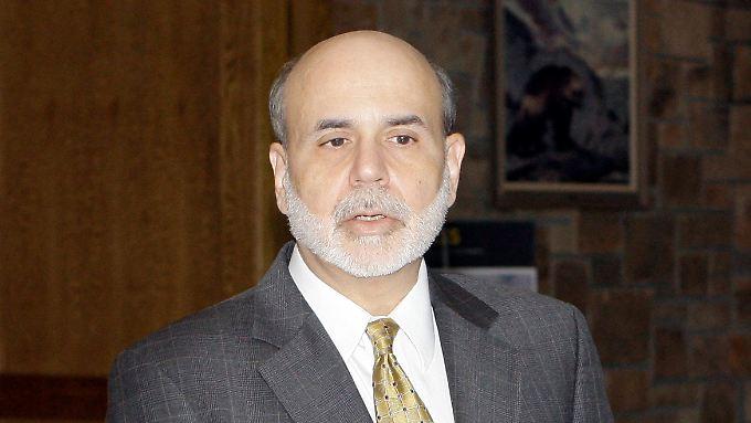 Ben Bernanke hat den Ernst der Lage erkannt.